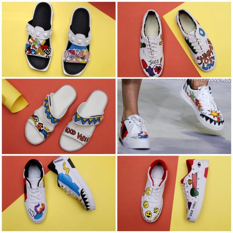 6. POP ART SHOES