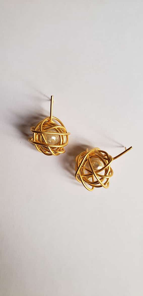 Honesty, the best policy- Nest Earrings
